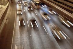 Auto-Spuren Stockbild