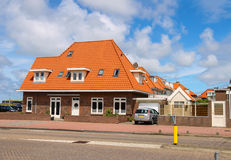 An auto standing near the residential house in Zandvoort, the Ne Royalty Free Stock Photo