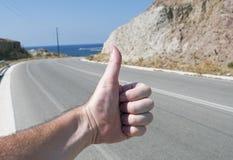 Auto-stop Photo libre de droits