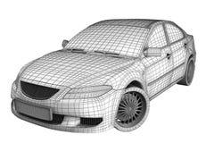 Auto Super vektor abbildung