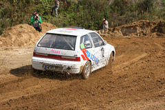Auto Suzuki-Rallye Lizenzfreie Stockbilder