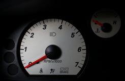 Auto tacômetro Imagem de Stock