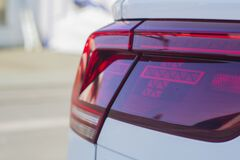 Auto Tail Light Stock Image