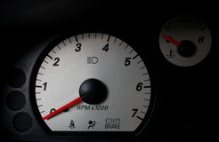 Auto takometer Fotografering för Bildbyråer