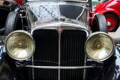 Auto Tatra 80 van jaar 1935 tribunes in Nationaal technisch museum stock foto's