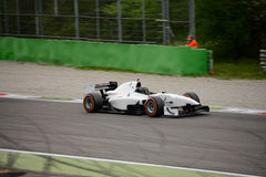 Auto teste do carro de fórmula do GP em Monza Imagens de Stock