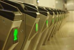 Auto Ticket_checking Machine Stock Photos