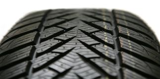 Auto tire isolated Stock Photos
