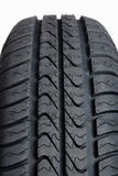 Auto tires on a white background Stock Photography
