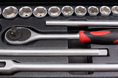 Auto tool kit Royalty Free Stock Image