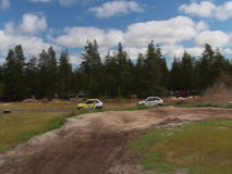 Auto track. stock footage