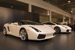 auto trans. för bilshow Royaltyfri Bild