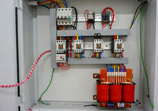 Auto transformatorstartknapp Royaltyfri Fotografi