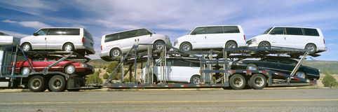 Auto Transporter Royalty Free Stock Images