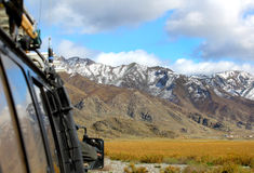 Auto travel. To altai in indian summer Stock Photography