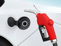 Auto-und Gas-Pumpen-Düse stock abbildung