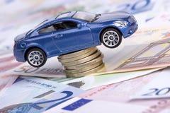 Auto und Geld Stockbild