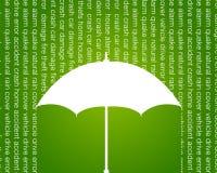 Auto und Hauptversicherungswerbung Stockfotos