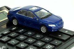 Auto und Rechner Lizenzfreies Stockfoto