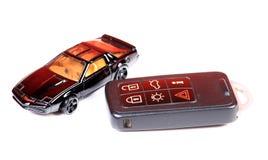 Auto und Taste Lizenzfreie Stockbilder