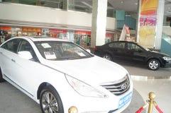 Auto utställningförsäljningar Royaltyfria Foton
