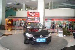 Auto utställningförsäljningar Fotografering för Bildbyråer