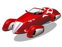 Auto van de toekomst Royalty-vrije Stock Afbeeldingen