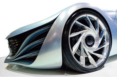 Auto van de toekomst Stock Foto's