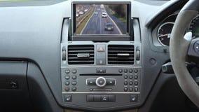 Auto van het auto de binnenlandse voertuig stock videobeelden
