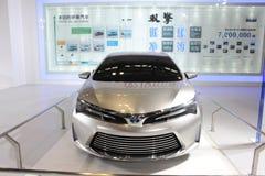 Auto van het de motorconcept van Toyota de hybride dubbele Royalty-vrije Stock Afbeelding
