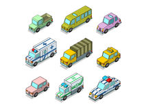 Auto. vector illustration Royalty Free Stock Photos