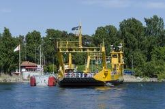 Auto-veerboot Royalty-vrije Stock Fotografie