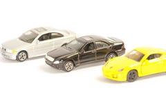 Auto vendas do carro do brinquedo Fotos de Stock