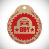 Auto-Verkaufsdesign Lizenzfreie Stockfotos