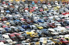 Auto-Verschrottung Lizenzfreie Stockbilder