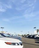 Auto-Vertragshändler-Los Lizenzfreies Stockfoto
