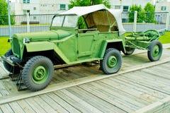 Auto vom Zweiten Weltkrieg Stockfotografie