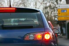 Auto von hinten lizenzfreies stockbild