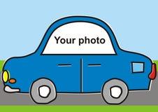 Auto voor uw foto Stock Fotografie