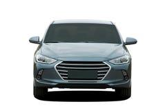 Auto vooraanzicht royalty-vrije stock foto's