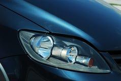 Auto voorkoplamp royalty-vrije stock foto
