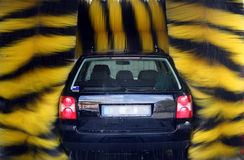 Auto-Wäsche Lizenzfreies Stockfoto
