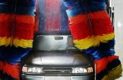 Auto-Wäsche Stockfoto