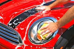 Auto-Wäsche Stockbild