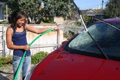 Auto-Wäsche Lizenzfreie Stockfotos