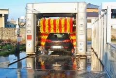 Auto washing Royalty-vrije Stock Foto's