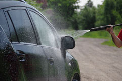 Auto washing Stockbild