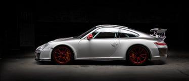 Auto Weinlese-Porsches 911 Stockfotografie