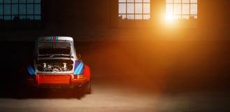 Auto Weinlese-Porsches 911 Stockbilder