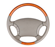 Auto wheel isolate Stock Photos